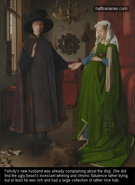 The Arnolfini Portrait pic