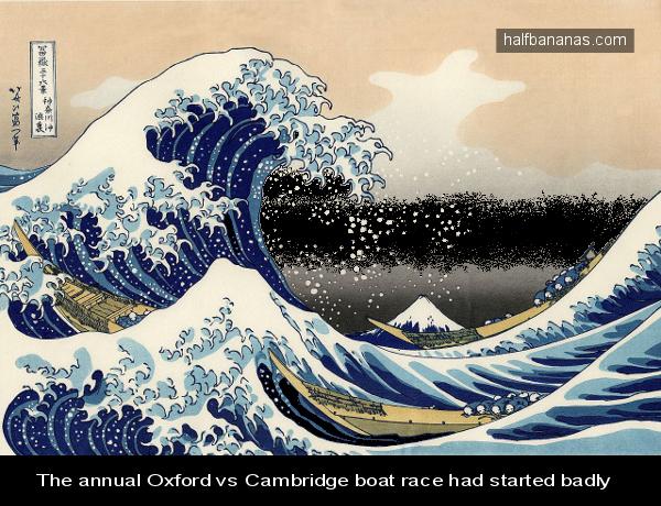 Oxford cambridge boatrace pic