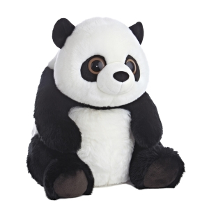 Stuffed panda bear