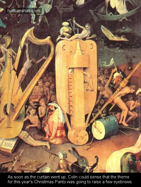 Hieronymus Bosch - Christmas panto pic