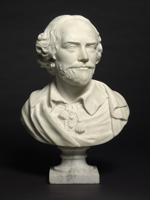 Shakespeare bust picture
